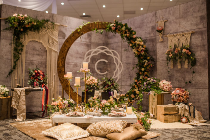 Calyx Floral Design Fall Bridal Gala