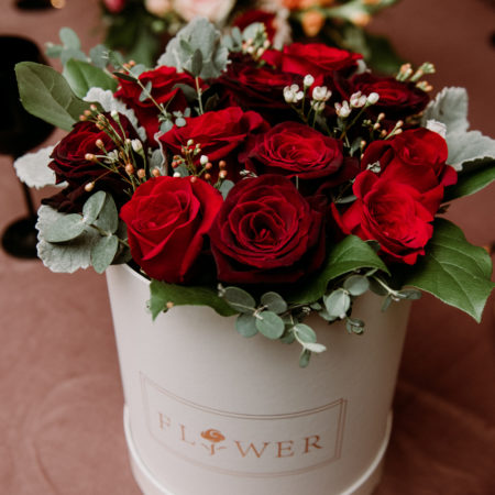 Calyx Floral Design Valentines Amelia Box